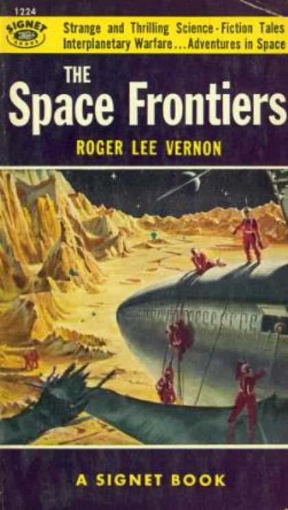Signet Books - The Space Frontiers - Roger Lee Vernon
