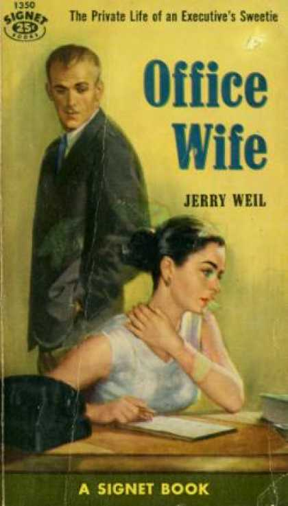 Signet Books - Office Wife - Jerry Weil