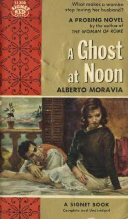 Signet Books - Ghost at Noon - Alberto Moravia