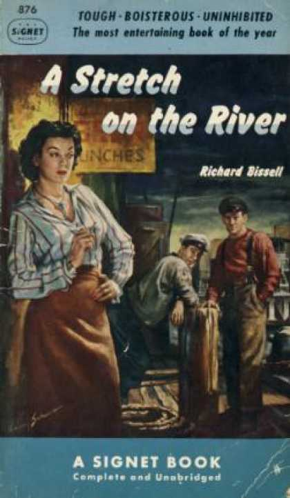 Signet Books - A Stretch On the River - Richard Bissell