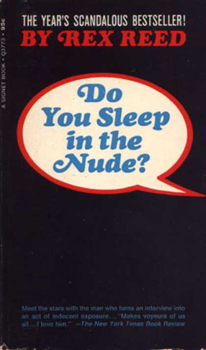 Signet Books - Do You Sleep In the Nude?