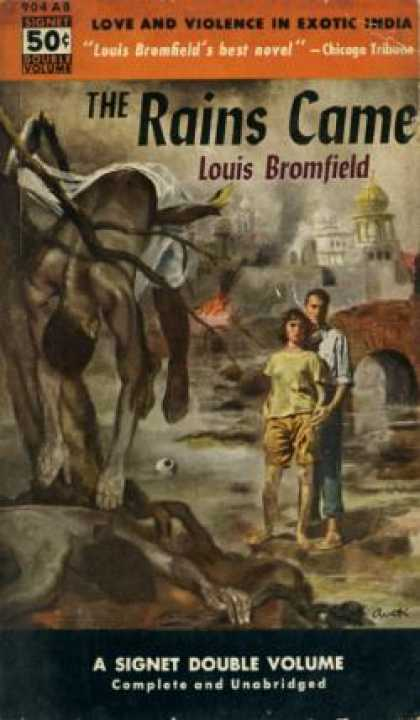 Signet Books - The Rains Came - Louis Bromfield