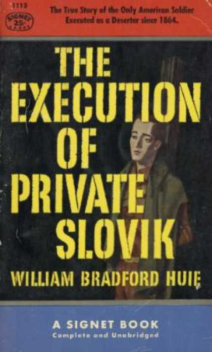 Signet Books - The Execution of Private Slovik