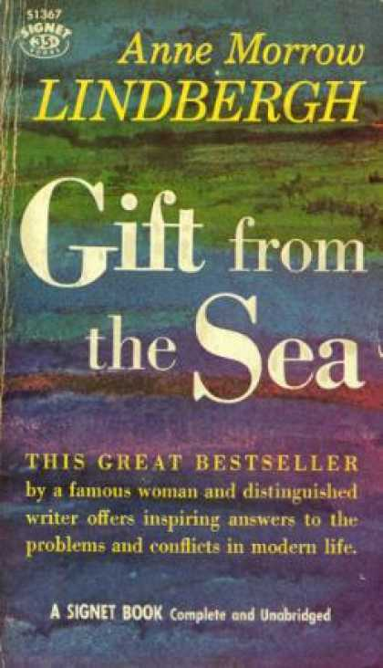 Signet Books - Gift From the Sea - Anne Morrow Lindbergh