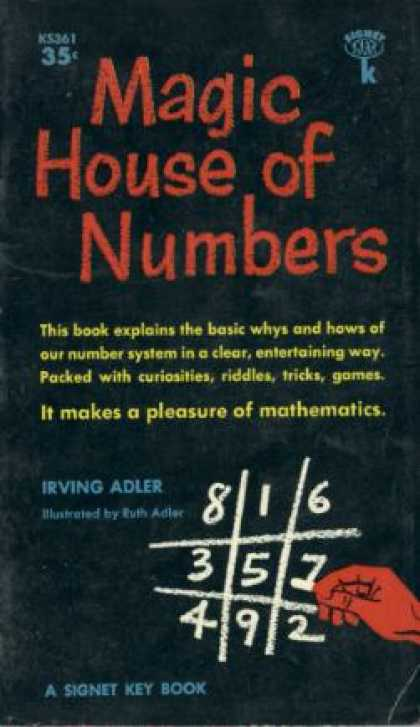 Signet Books - Magic House of Numbers. - Irving Adler