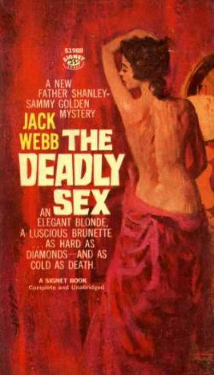 Signet Books - The Deadly Sex - Jack Webb