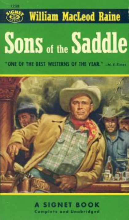 Signet Books - Sons of the Saddle - Joseph P. Lash