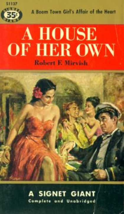 Signet Books - A House of Her Own - Robert E. Mirvish