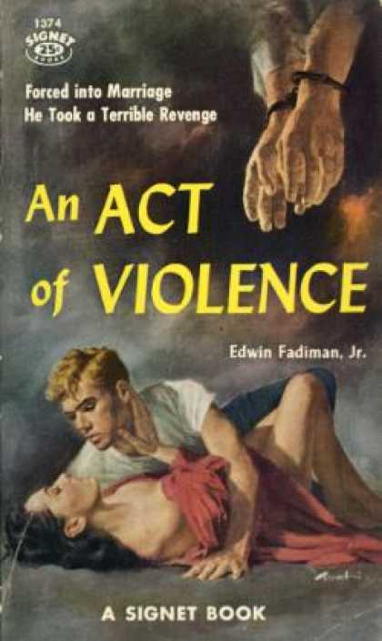 Signet Books - An Act of Violence - Edwin Fadiman, Jr.