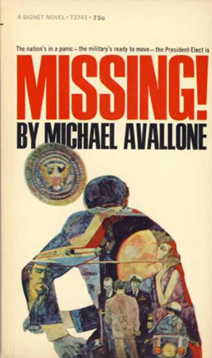 Signet Books - Missing - Michael Avallone