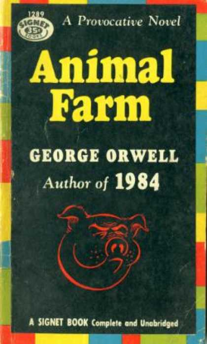 Signet Books - Animal Farm