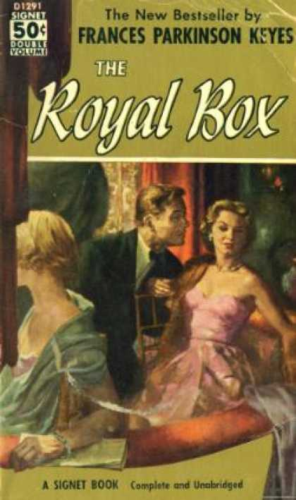 Signet Books - The Royal Box - Frances Parkinson Keyes