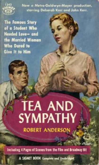 Signet Books - Tea and Sympathy - Robert Anderson