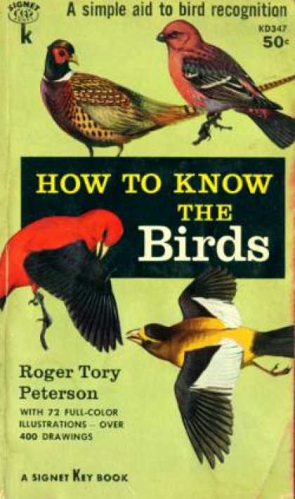 Signet Books - How To Know the Birds