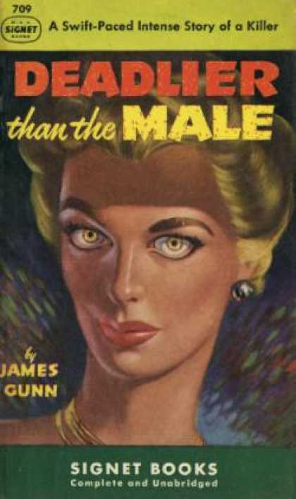 Signet Books - Deadlier Than the Male - James Gunn