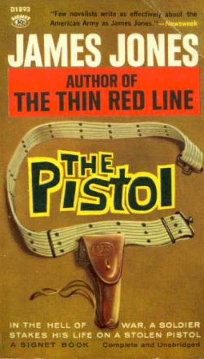 Signet Books - The Pistol - James Jones