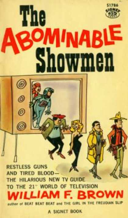 Signet Books - The Abominable Showmen