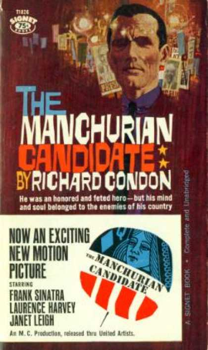 Signet Books - The Manchurian Candidate - Richard Condon