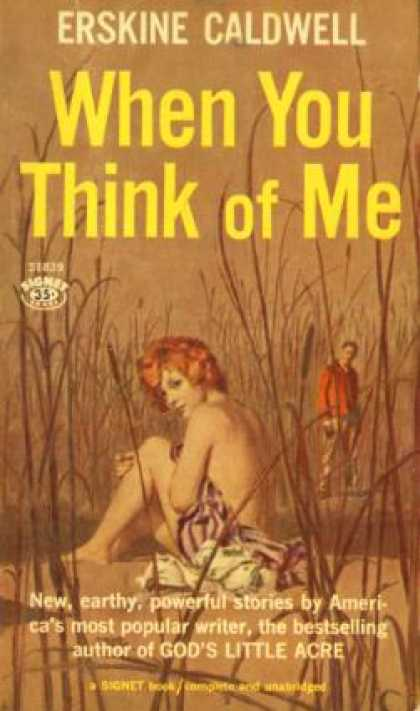 Signet Books - When You Think of Me - Erskine Caldwell