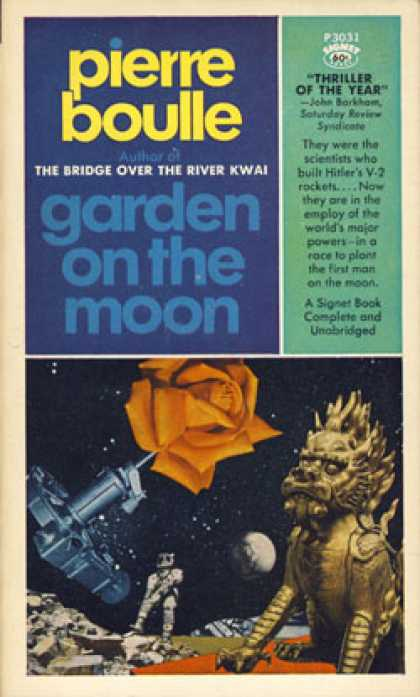 Signet Books - Garden On the Moon - Pierre Boulle