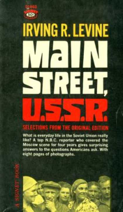 Signet Books - Main Street, U.s.s.r: Selections From the Original Edition - Irving R Levine