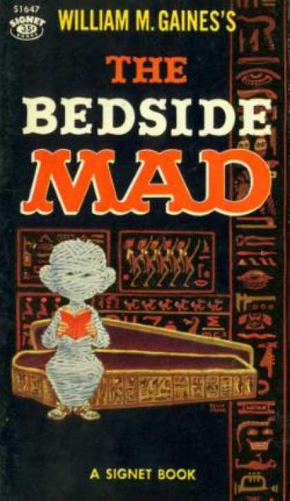 Signet Books - The Bedside Mad: Mad Reader, Volume 6 - William M. Gaines