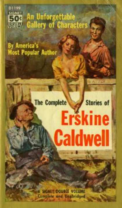 Signet Books - Caldwell: The Complete Stories of - Erskine Caldwell