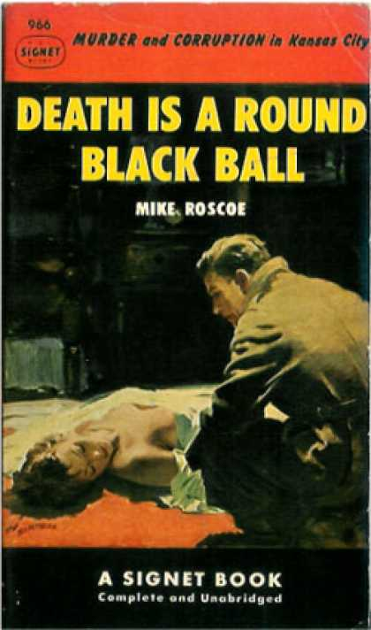 Signet Books - Death Is a Round Black Ball - Mike Roscoe