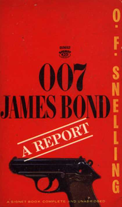 Signet Books - 007 James Bond: A Report - O.f. Snelling