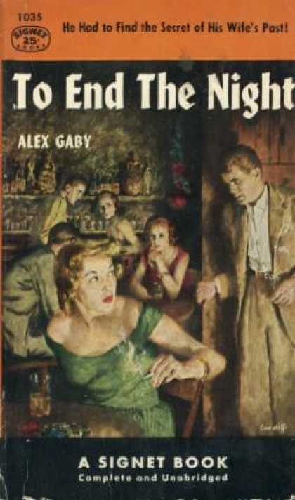 Signet Books - To End the Night - Alex Gaby