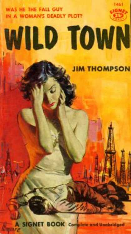 Signet Books - Wild Town 1st Edition - Jim Thompson