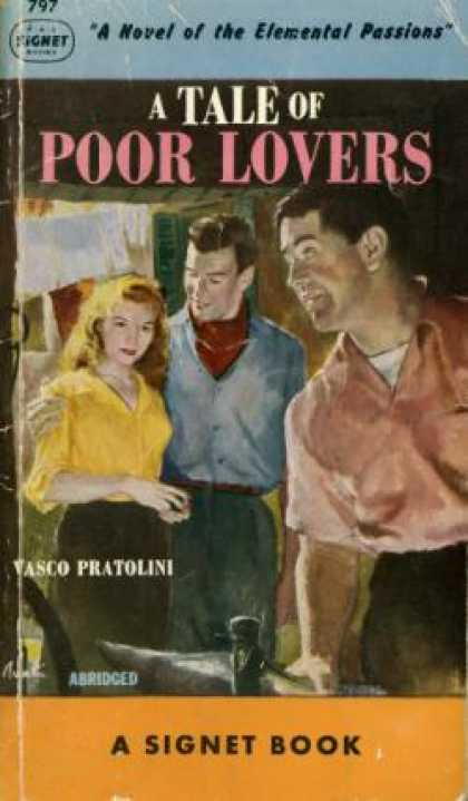 Signet Books - A Tale of Poor Lovers