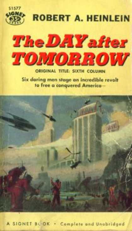 Signet Books - The Day After Tomorrow (signet Sf, S1577) - Robert A. Heinlein