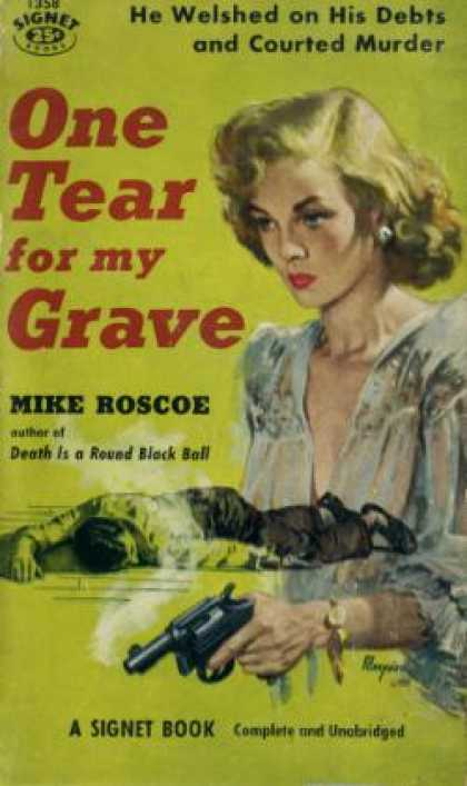 Signet Books - One Tear for My Grave