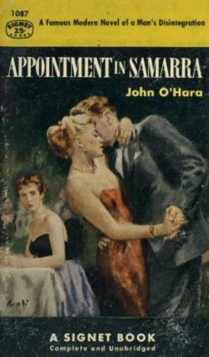 Signet Books - Appointment in Samarra - John O'Hara