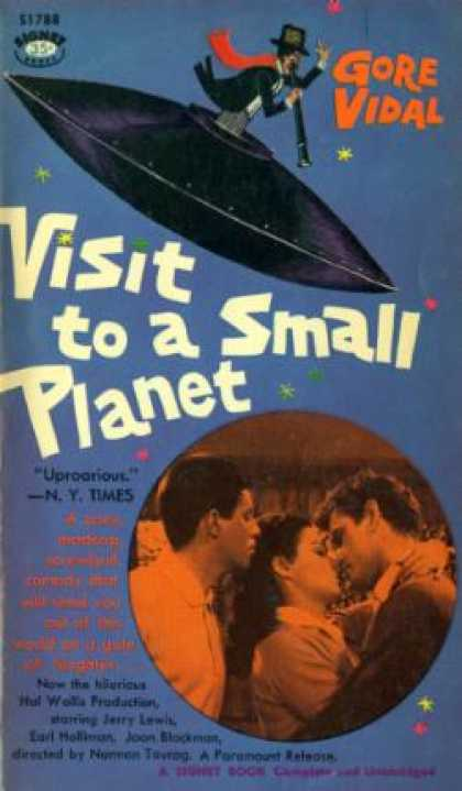Signet Books - Visit To a Small Planet. - Gore Vidal