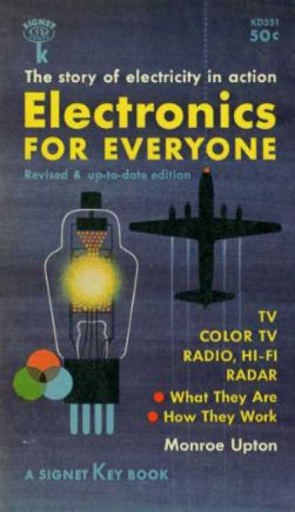 Signet Books - Electronics for Everyone - Monroe Upton