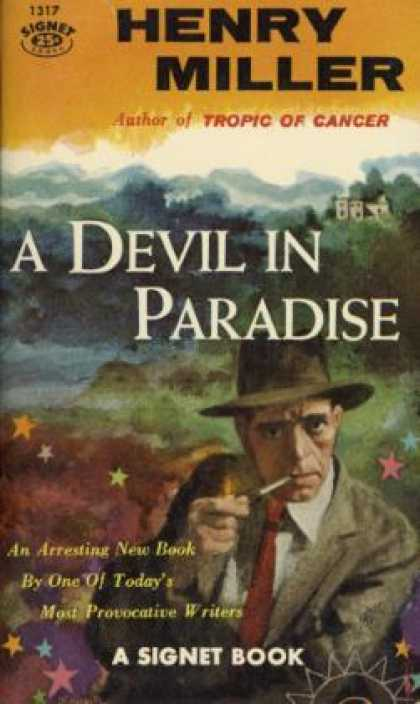Signet Books - A Devil In Paradise