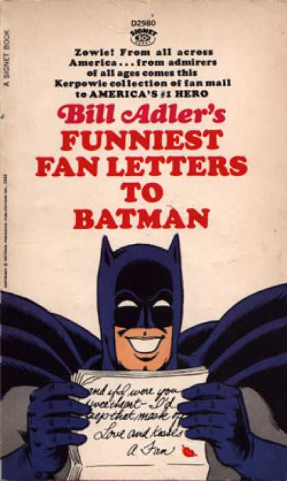 Signet Books - Funniest Fan Letters To Batman