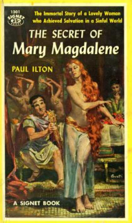 Signet Books - The Secret of Mary Magdalene - Paul Ilton
