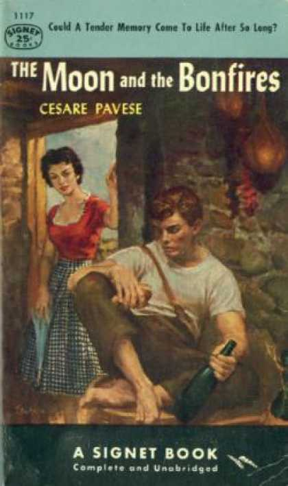 Signet Books - The Moon and the Bonfires - Cesare Pavese