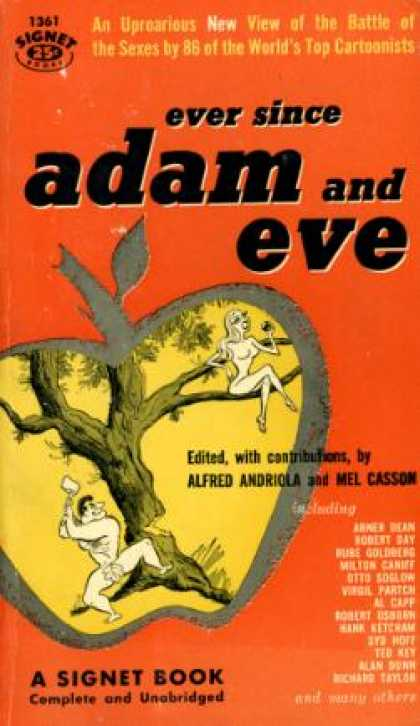 Signet Books - Ever Since Adam and Eve - Alfred Andriola