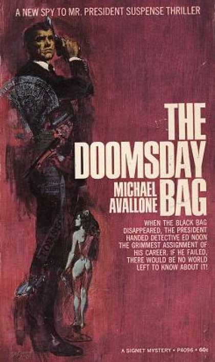 Signet Books - The Doomsday Bag - Michael Avallone