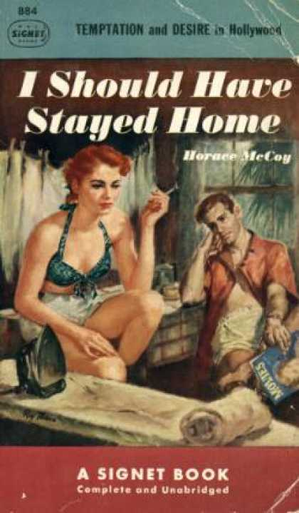Signet Books - I Should Have Stayed Home