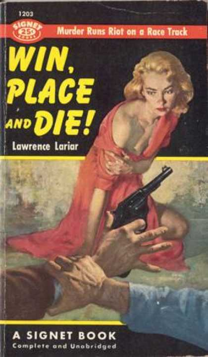Signet Books - Win, Place and Die! - Lawrence Lariar