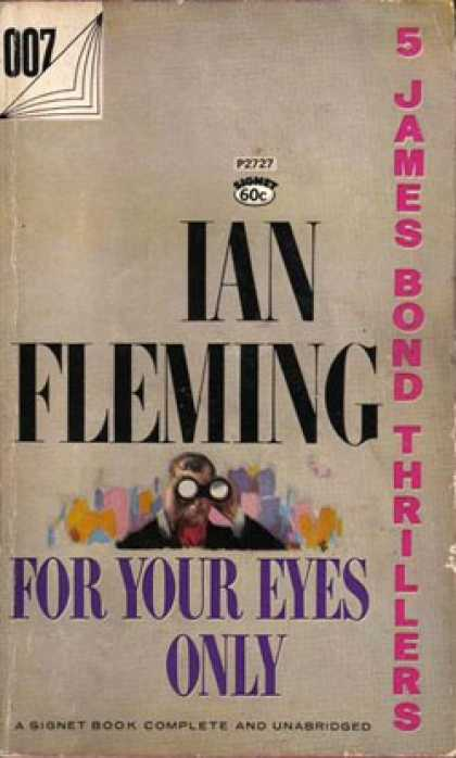 Signet Books - For Your Eyes Only - Ian Fleming
