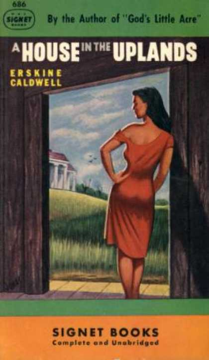 Signet Books - A House In the Uplands - Erskine Caldwell