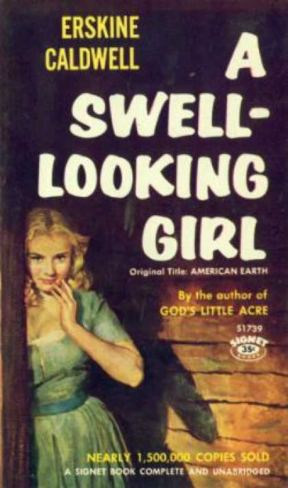 Signet Books - A Swell-looking Girl - Erskine Caldwell