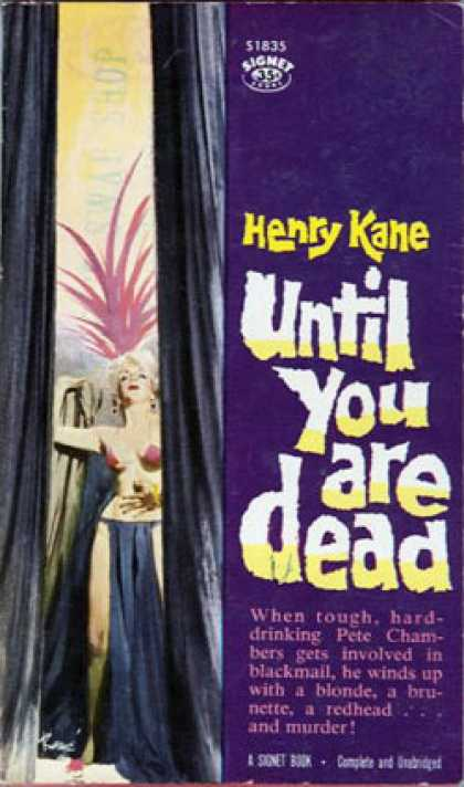 Signet Books - Until You Are Dead
