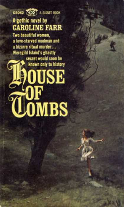 Signet Books - House of Tombs - Caroline Farr